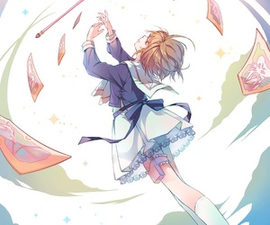anime, sakura card captor, and sakura image