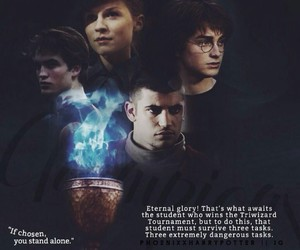 edit, goblet of fire, and hp image