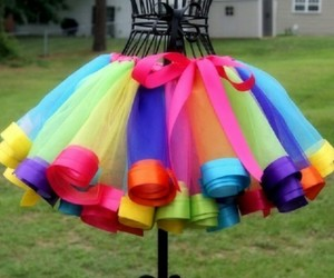 colors, neon, and dress image