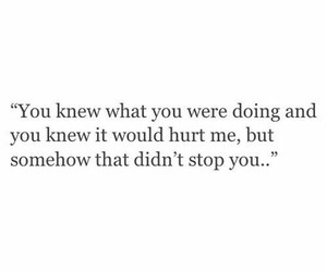 hurt, quote, and love image