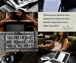 aesthetic, brave, and journalism image