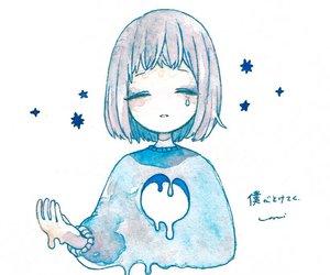 anime, anime girl, and drawings image