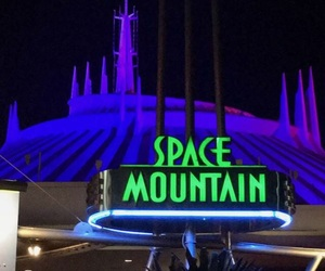 disney, florida, and space mountain image