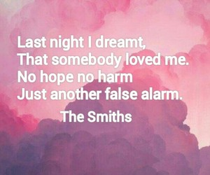 thesmiths dream quote image