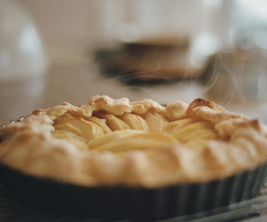 pie, food, and delicious image