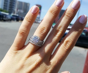 accessories, girl, and rings image