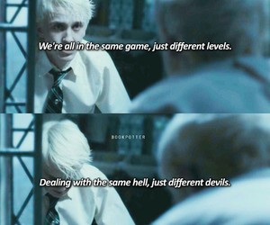 draco malfoy, edit, and harry potter image