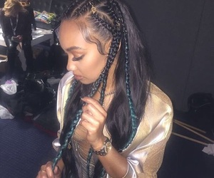 little mix, beauty, and braid image