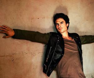 ian somerhalder, sexy, and damon salvatore image