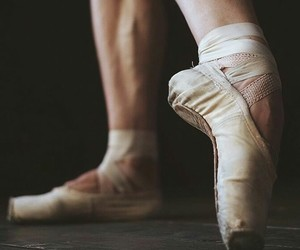 ballerina, pointe, and cute image