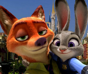 zootopia, disney, and selfie image