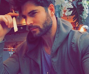 beard, beauty, and Brun image