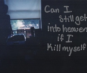 quote, heaven, and depression image