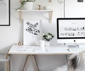 decoration, decor, and desk image