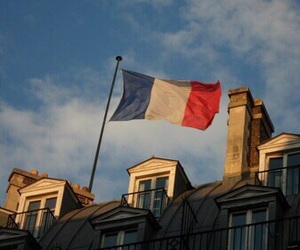 flag, france, and peace image