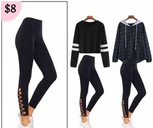 fashion, jacket, and shirts image