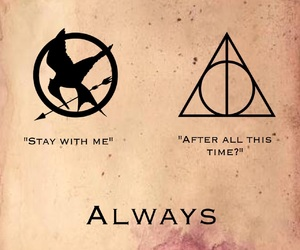 always, harry potter, and jk rowling image