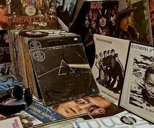 music, Pink Floyd, and vintage image