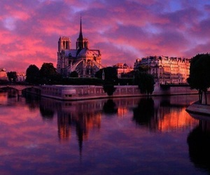 france, sky, and paris image
