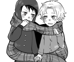bl, craig x tweek, and tweek x craig image