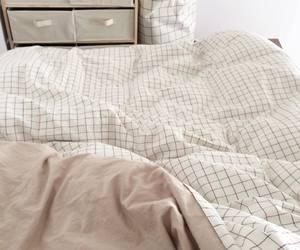 bedroom, tan, and theme image