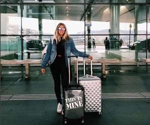 airport, travel, and gabi lopes image