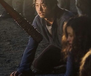 LUCILLE, the walking dead, and twd image