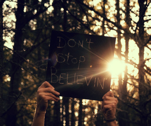 quote, believe, and photography image