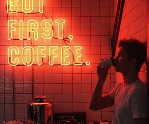 aesthetic, alternative, and coffee image