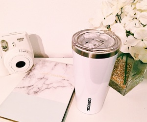 notebook, instax, and corkcicle image