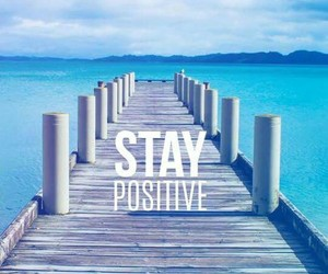 wallpaper, positive, and blue image