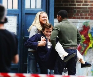 doctor who, david tennant, and billie piper image