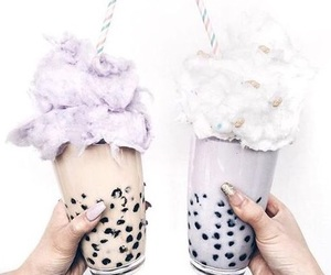 aesthetic, food, and boba image