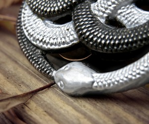 silver, snake, and The Neverending Story image