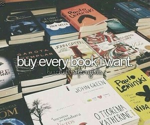 book, bucket list, and reading image