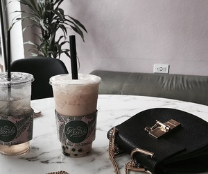 cafe, tea, and drinks image