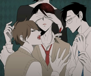 bl, blood, and Boys Love image