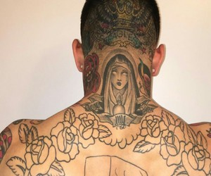 cholo, muscles, and tattoo image