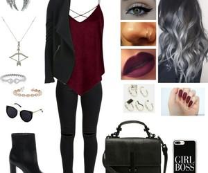 fashion, moda, and Polyvore image