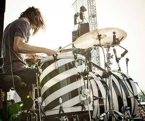 the maine, drums, and pat kirch image