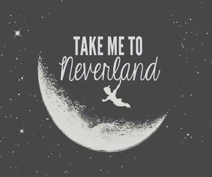 wallpaper, neverland, and peter pan image