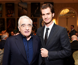 martin scorsese and andrew garfield image