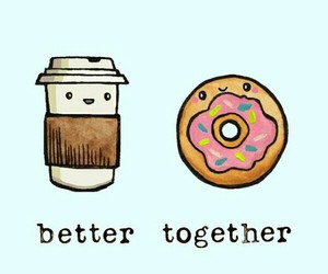 wallpaper, background, and donuts image