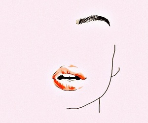 lips, wallpapers, and pink image