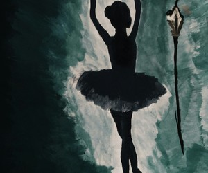 art, ballet, and create image