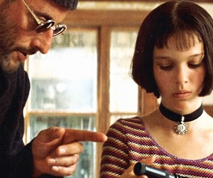 mathilda lando, leon the professional, and natalie portman image