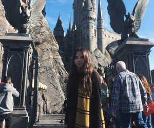 california, universal studios, and harry potter image