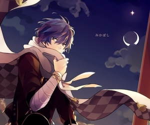 anime, vocaloid, and kaito shion image
