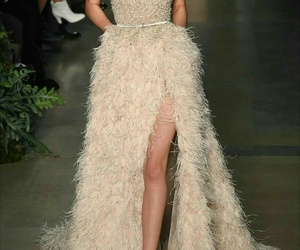 dress, elie saab, and runway image