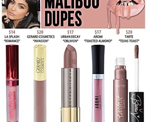 dupe, lipstick, and make up image